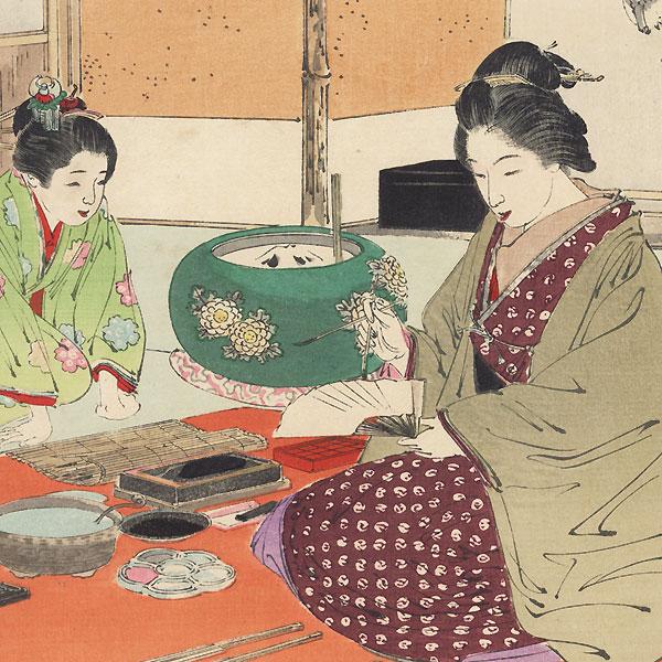 Painting Studio by Gekko (1859 - 1920)