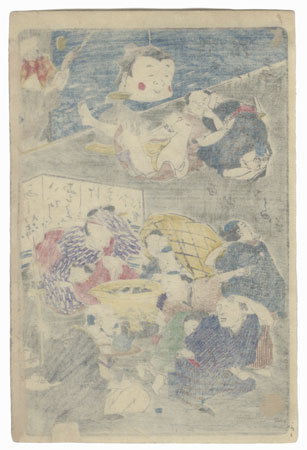 One Hundred Ghost Stories by Kyosai (1831 - 1889)