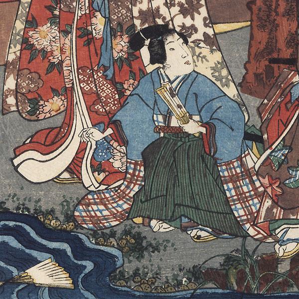 Miyuki, Chapter 29, 1853 by Toyokuni III/Kunisada (1786 - 1864)