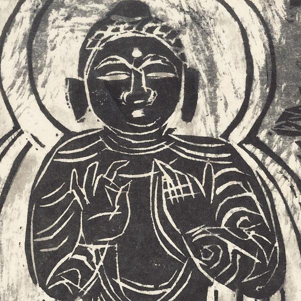 Mahayana by Munakata (1903 - 1975)