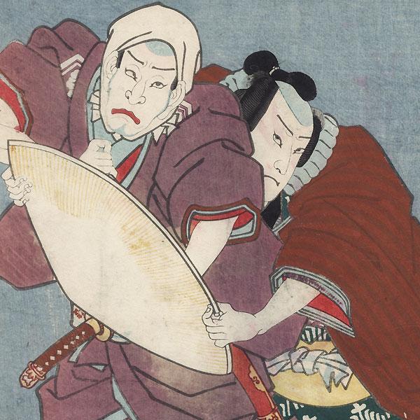 Ohatsu's Discovery, 1857 by Toyokuni III/Kunisada (1786 - 1864)