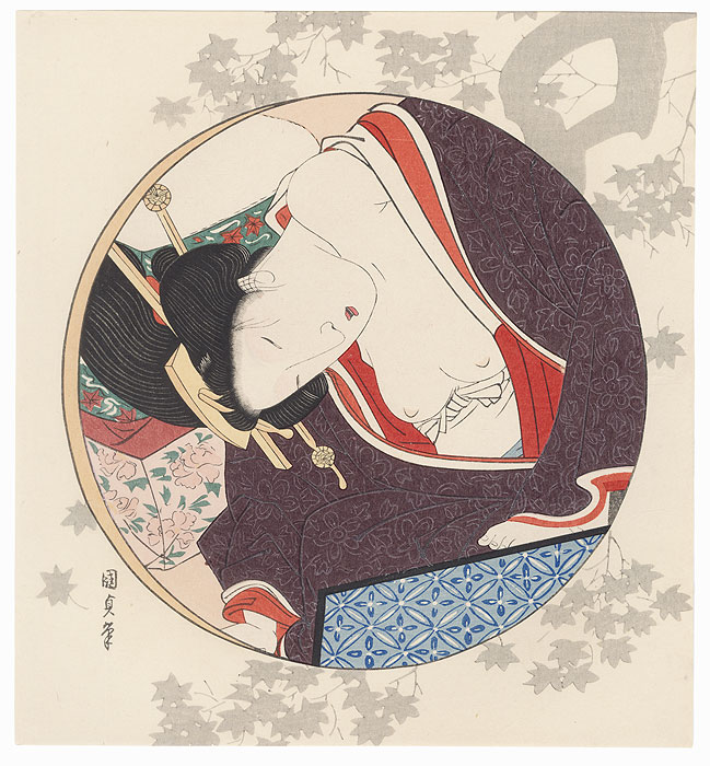 Pillow Print by Toyokuni III/Kunisada (1786 - 1864)