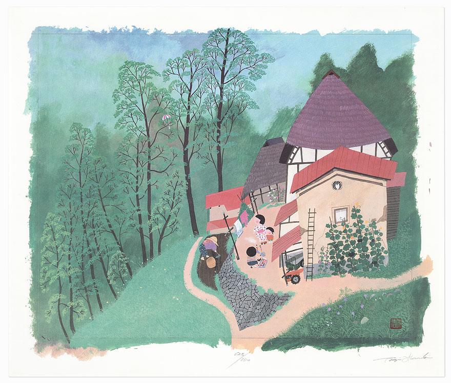 Spring by Taizi Harada (born 1940)
