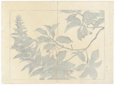 Autumn Flowers, 1907 by Tomioka Tessai (1836 - 1924)