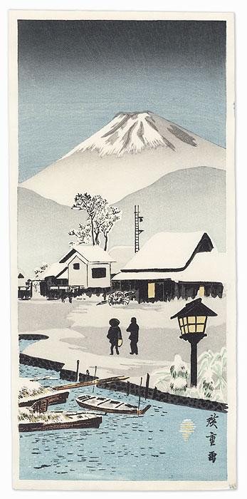 Nihonmatsu by After Shotei (Takahashi Hiroaki) (1871 - 1945)