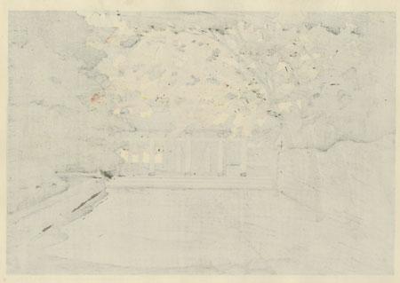 Eigenji Temple, Autumn, 1986 by Masao Ido (1945 - 2016)