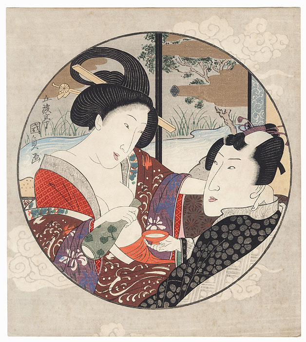 Pillow Print by Toyokuni III/Kunisada (1786 - 1864)