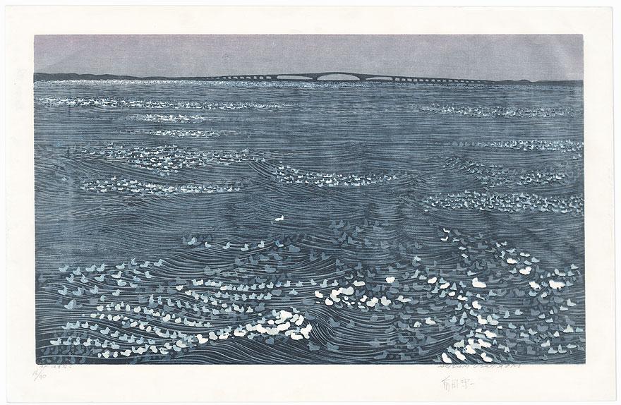 Lake Hamana by Morikazu Maeda (born 1932)