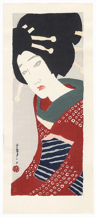 Koharu by Takehisa Yumeji (1884 - 1934)