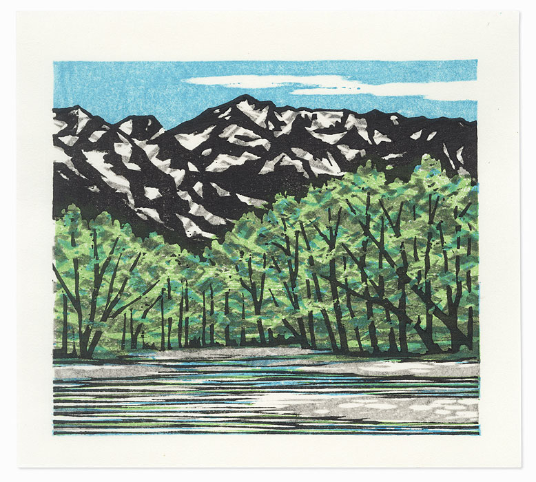 Kamikochi Early Summer, 2006 by Fumio Fujita (born 1933)