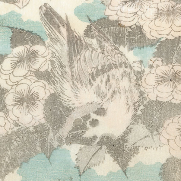 Birds and Flowering Tree by Hokusai (1760 - 1849)