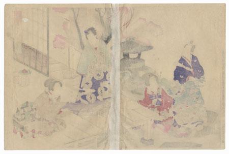 Miyuki, Chapter 29 by Toyokuni III/Kunisada (1786 - 1864)