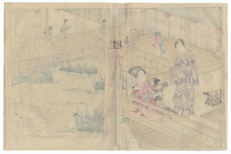 Azumaya, Chapter 50 by Toyokuni III/Kunisada (1786 - 1864)