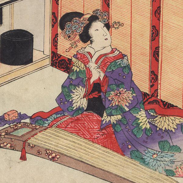 Agemaki, Chapter 47 by Toyokuni III/Kunisada (1786 - 1864)