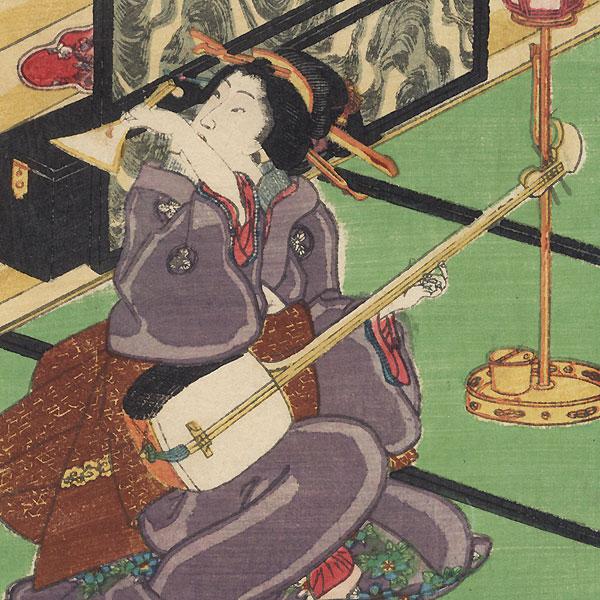 Kosan, 1861 by Toyokuni III/Kunisada (1786 - 1864)