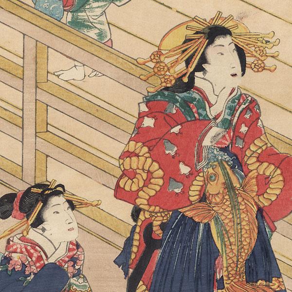 Hashidate, 1861 by Toyokuni III/Kunisada (1786 - 1864)