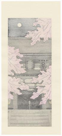 Kurama Temple by Teruhide Kato (1936 - 2015)