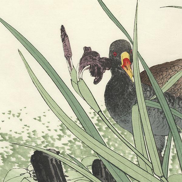 Oban diptych original - Summer Group, 1891 by Imao Keinen (1845 - 1924)