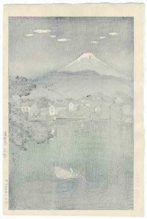 Tokaido Numazu Harbor, 1940 by Tsuchiya Koitsu (1870 - 1949)