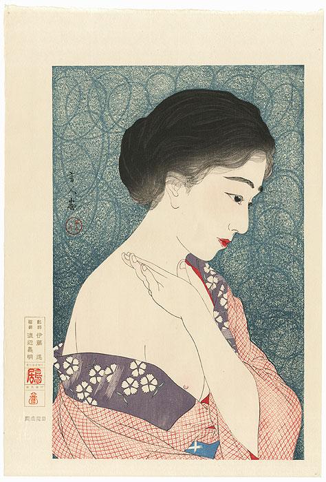 Applying Powder by Torii Kotondo (1900 - 1976)