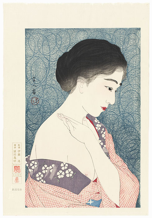 Applying Powder by Torii Kotondo (1900 - 1976)