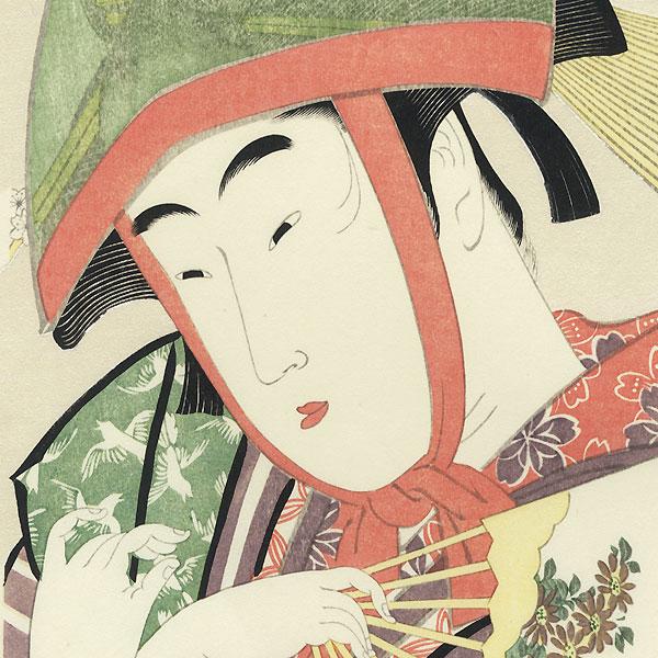 Yoshiwara-suzume by Utamaro (1750 - 1806)
