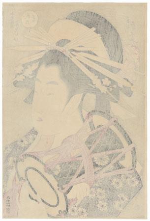 The Courtesan Yosooi of the Matsubaya by Eisui (active circa 1790 - 1823)