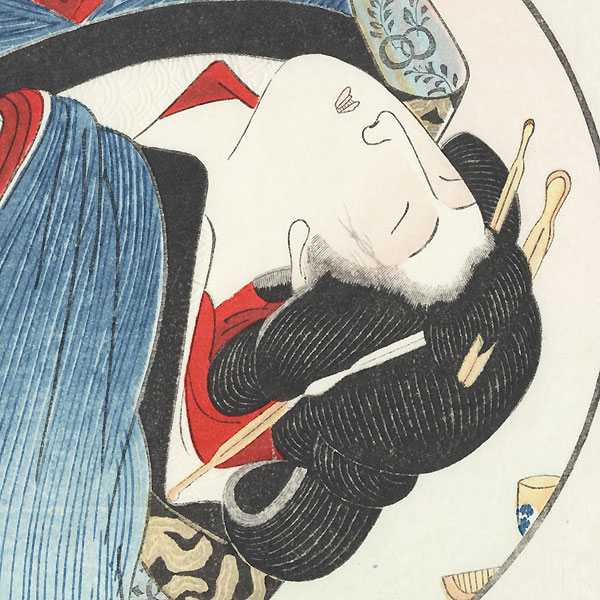 Pillow Print by Kuniyoshi (1797 - 1861)