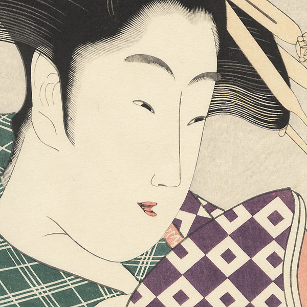 Shizuka of the Tamaya by Eisui (active circa 1790 - 1823)