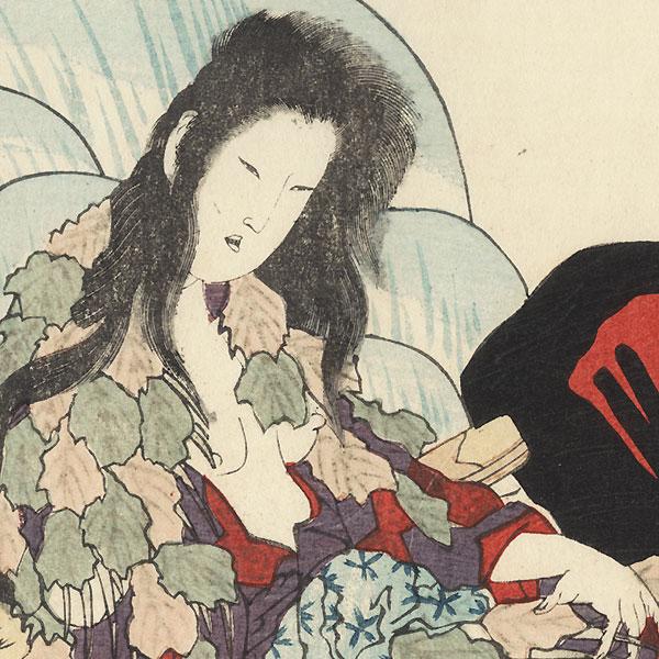 Yamauba Surimono by Hokkei (1780 - 1850)