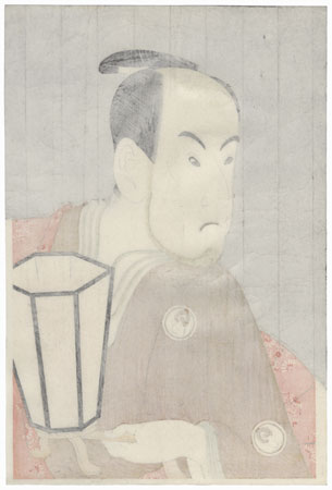 Bando Hikosaburo III as Sagisaka Sanai by Sharaku (active 1794 - 1795)