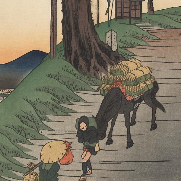 Matsuida by Hiroshige (1797 - 1858)