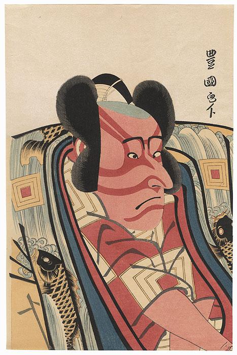 Ichikawa Danjuro VI as Arajishi Otokonosuke by Toyokuni I (1769 - 1825)