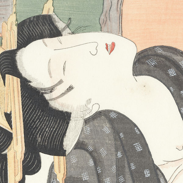 Pillow Print by Toyokuni I (1769 - 1825)
