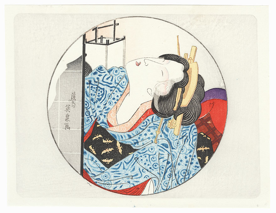 Pillow Print by Eisen (1790 - 1848)