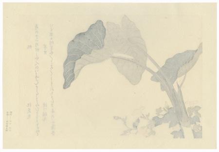 Horsefly and Green Caterpillar by Utamaro (1750 - 1806)