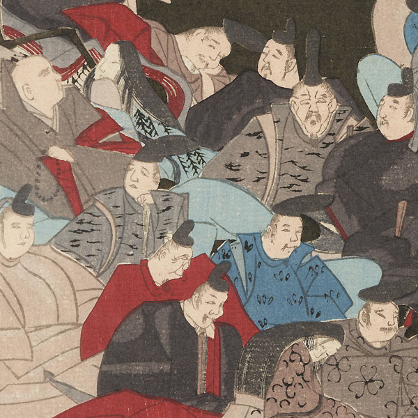 The Thirty-six Immortals of Poetry by Ogata Korin (1658 - 1716)