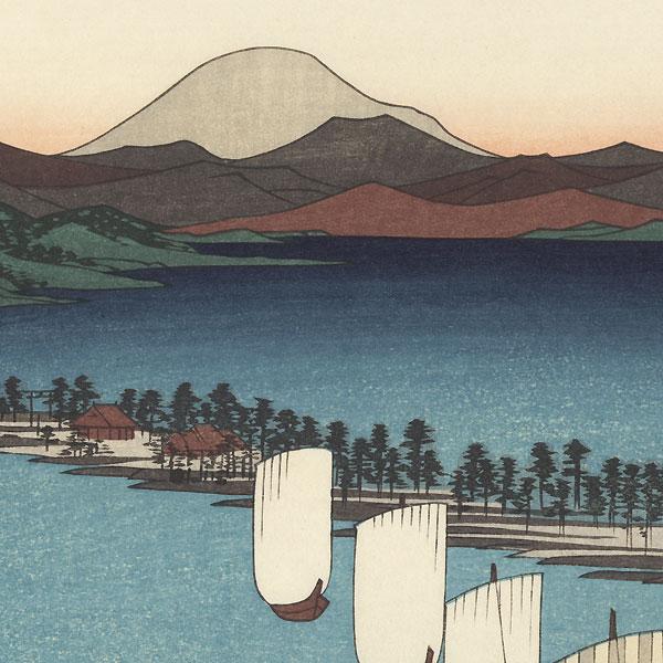 Ama no Hashidate  by Hiroshige (1797 - 1858)
