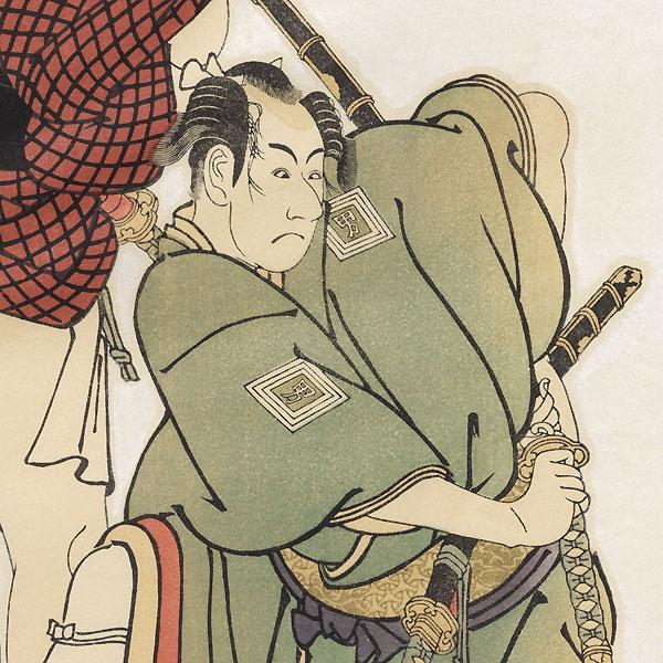 Ichikawa Omezo and Otani Oniji II by Sharaku (active 1794 - 1795)