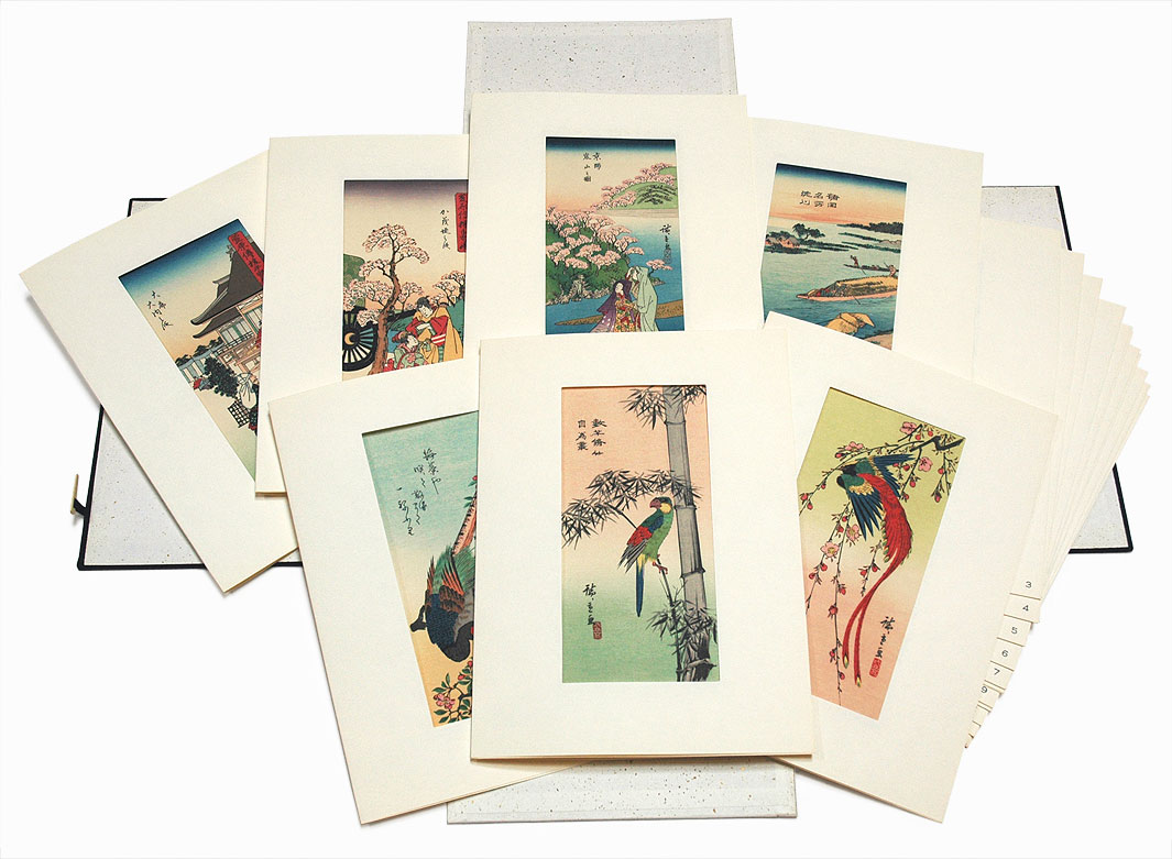 Complete First Edition Hiroshige Set by Hiroshige (1797 - 1858)