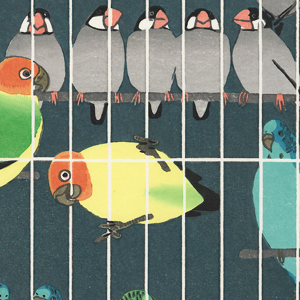 Bird Cage, 1957 by Shiro Kasamatsu (1898 - 1991)