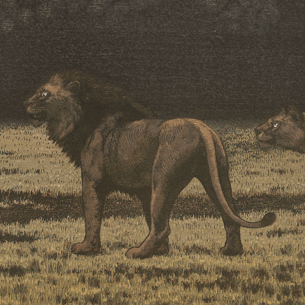 One Day in East Africa No. 10 by Toshi Yoshida (1911 - 1995)