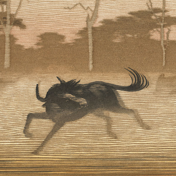 One Day in East Africa No. 4 by Toshi Yoshida (1911 - 1995)