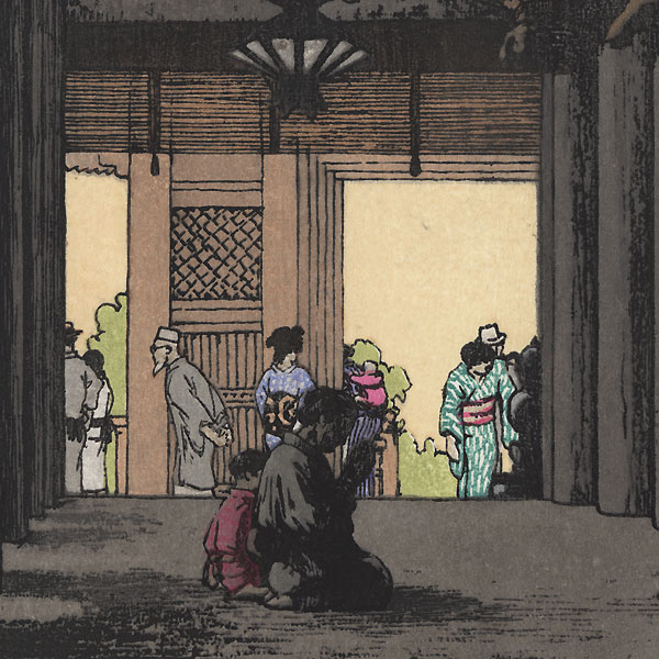 Kiyomizu Temple, 1995 by Toshi Yoshida (1911 - 1995)