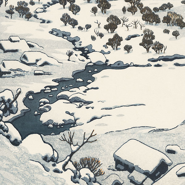 Snow Country, 1955 by Toshi Yoshida (1911 - 1995)