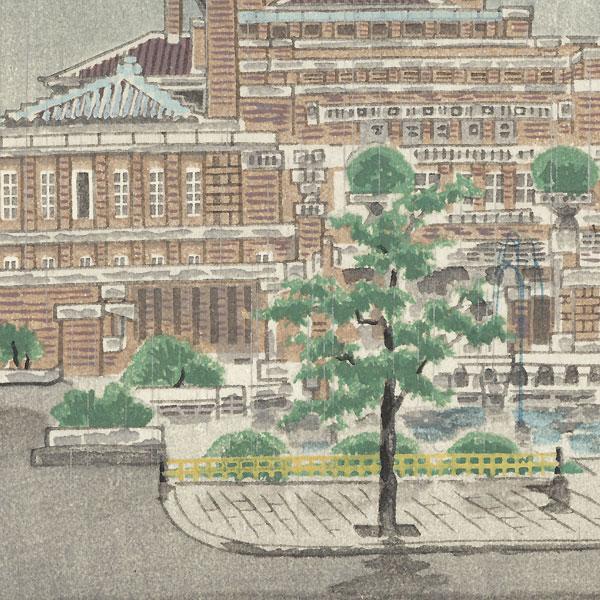 Imperial Hotel in Tokyo by Eiichi Kotozuka (1906 - 1979)