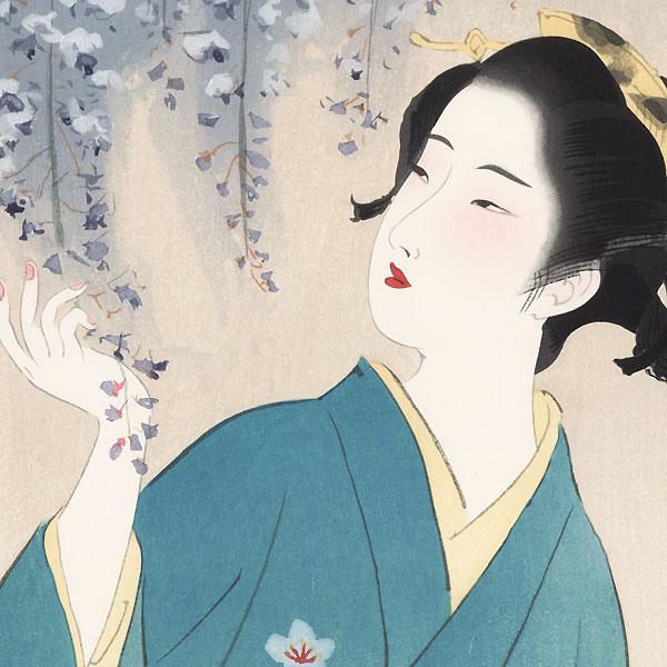 Flowers by Kiyokata Kaburagi (1886 - 1972)