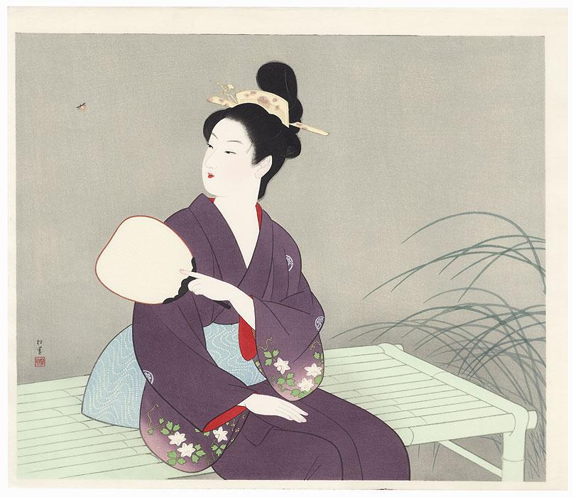 Firefly by Uemura Shoen (1875 - 1949)