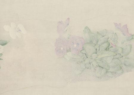 Violets by Uemura Shoko (1902 - 2001)
