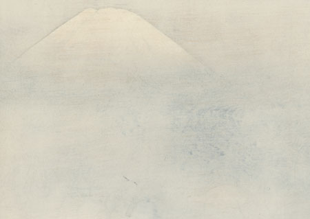 Mt. Fuji and Cherry Blossoms by Yokoyama Taikan (1868 - 1958)